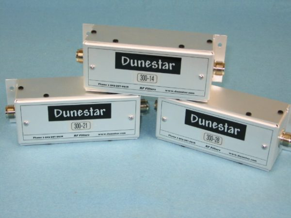 Dunestar Bandpass Filters